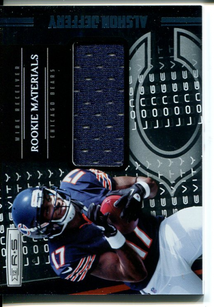 2012 Rookies and Stars Rookie Materials Longevity Parallel #227 Alshon Jeffery