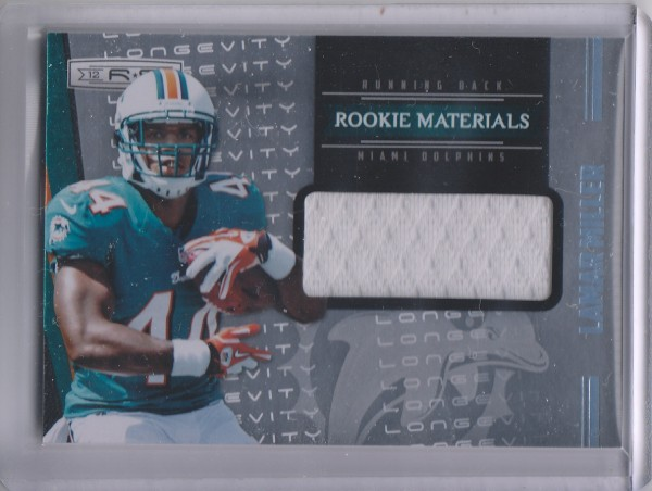 2012 Rookies and Stars Rookie Materials Longevity Parallel #237 Lamar Miller