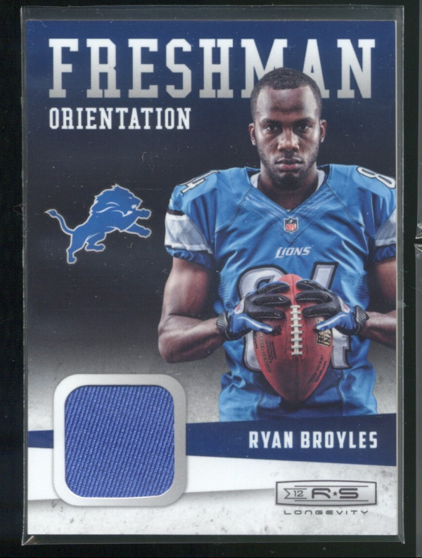 2012 Rookies and Stars Longevity Freshman Orientation Jerseys #3 Ryan Broyles