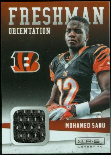 2012 Rookies and Stars Longevity Freshman Orientation Jerseys #10 Mohamed Sanu