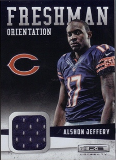 2012 Rookies and Stars Longevity Freshman Orientation Jerseys #23 Alshon Jeffery