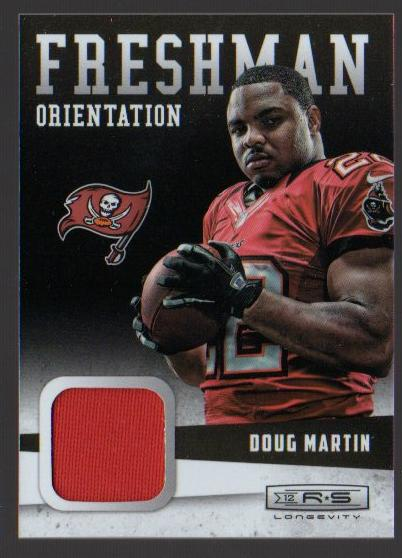 2012 Rookies and Stars Longevity Freshman Orientation Jerseys #25 Doug Martin