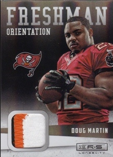 2012 Rookies and Stars Longevity Freshman Orientation Jerseys Prime #25 Doug Martin