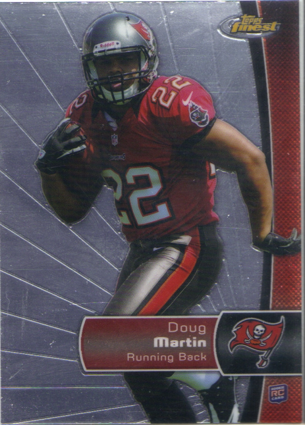 2012 Finest #108 Doug Martin RC