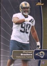 2012 Finest #137 Michael Brockers RC