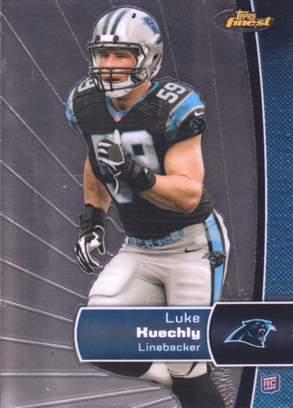 2012 Finest #139 Luke Kuechly RC