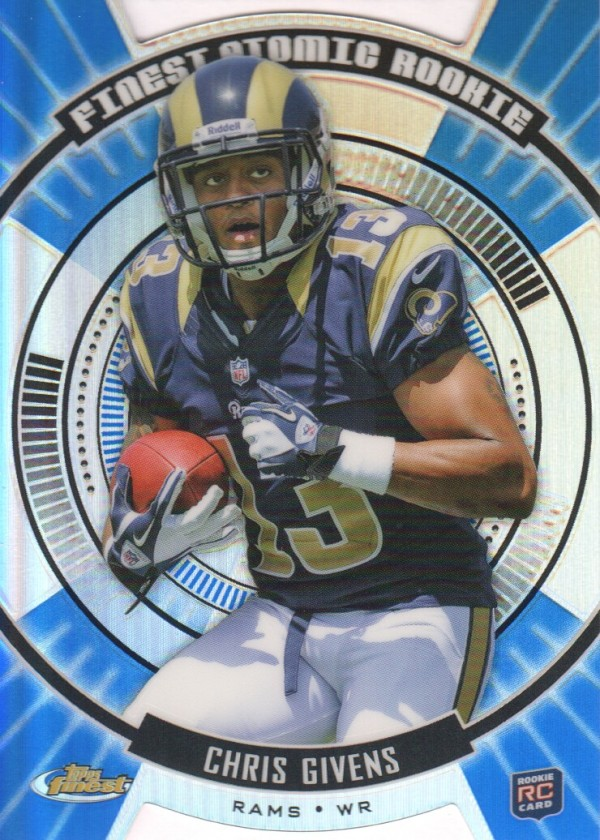 2012 Finest Atomic Refractor Rookies #FARCGI Chris Givens