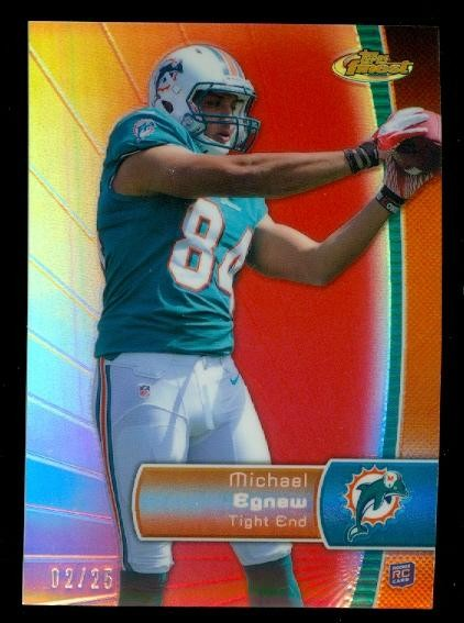 2012 Finest Red Refractors #146 Michael Egnew
