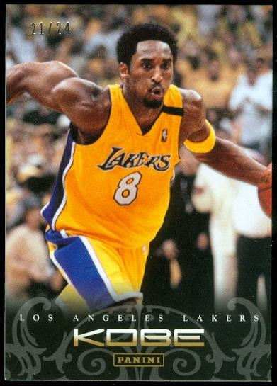 2012-13 Panini Kobe Anthology Gold #33 Kobe Bryant