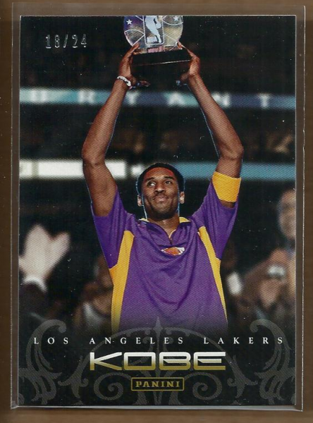 2012-13 Panini Kobe Anthology Gold #56 Kobe Bryant