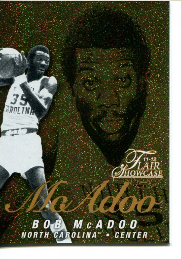 2011-12 Fleer Retro Flair Showcase #19 Bob McAdoo