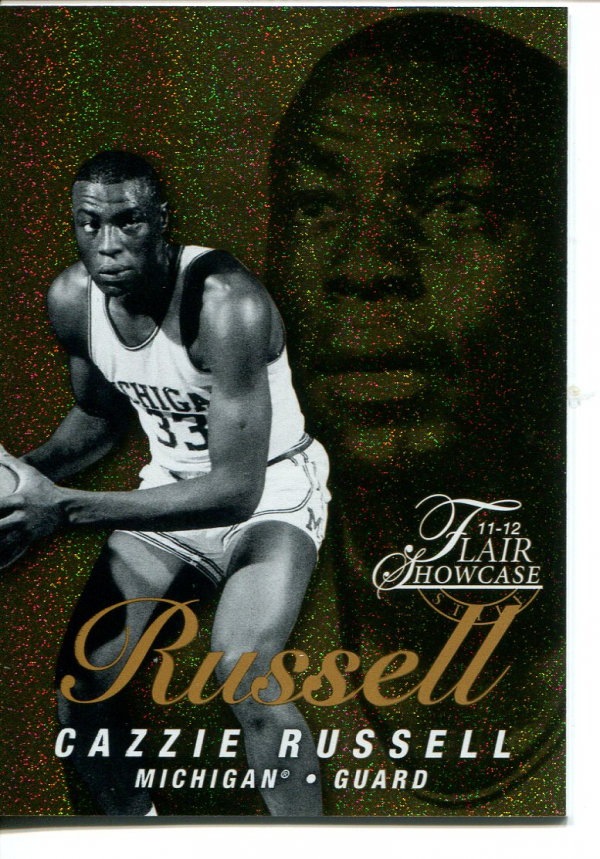 2011-12 Fleer Retro Flair Showcase #21 Cazzie Russell