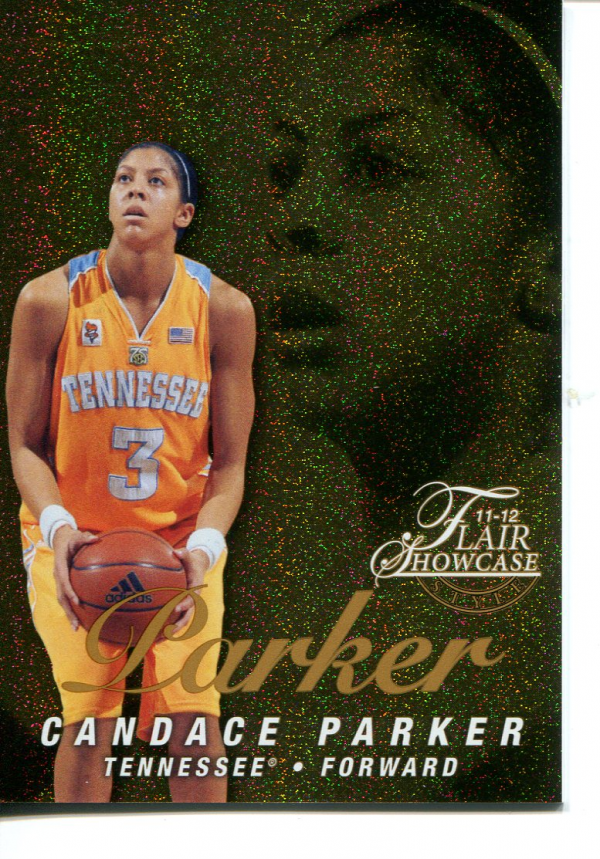 2011-12 Fleer Retro Flair Showcase #31 Candace Parker
