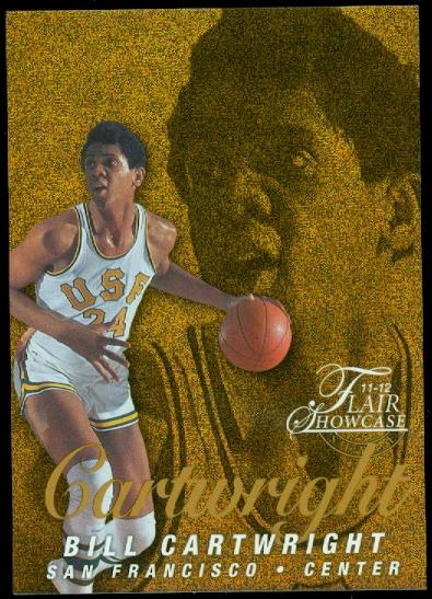2011-12 Fleer Retro Flair Showcase #43 Bill Cartwright