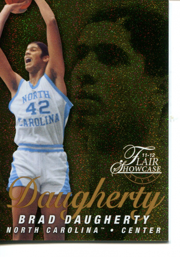2011-12 Fleer Retro Flair Showcase #46 Brad Daugherty