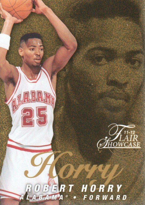 2011-12 Fleer Retro Flair Showcase #49 Robert Horry