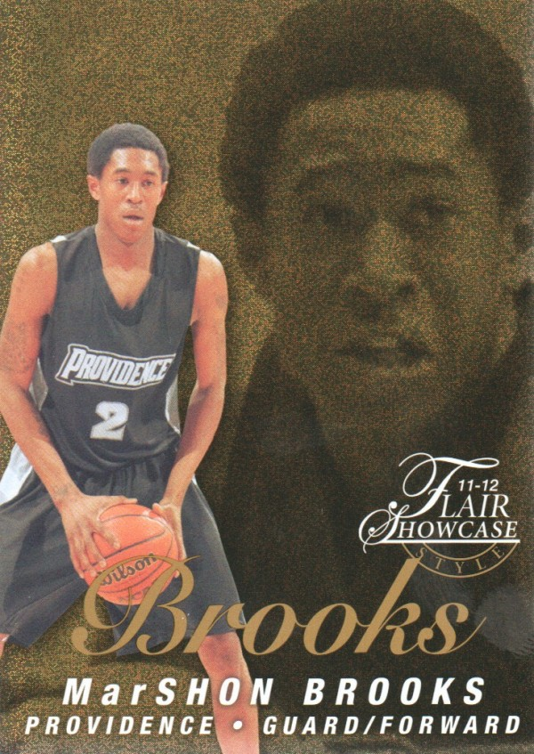 2011-12 Fleer Retro Flair Showcase #54 MarShon Brooks