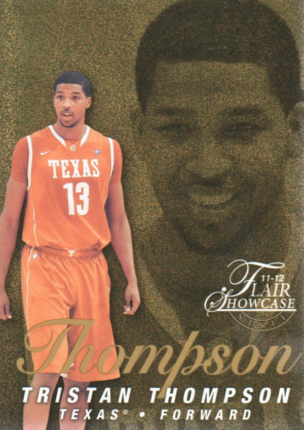2011-12 Fleer Retro Flair Showcase #57 Tristan Thompson