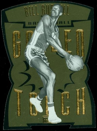 2011-12 Fleer Retro Golden Touch #10 Bill Russell