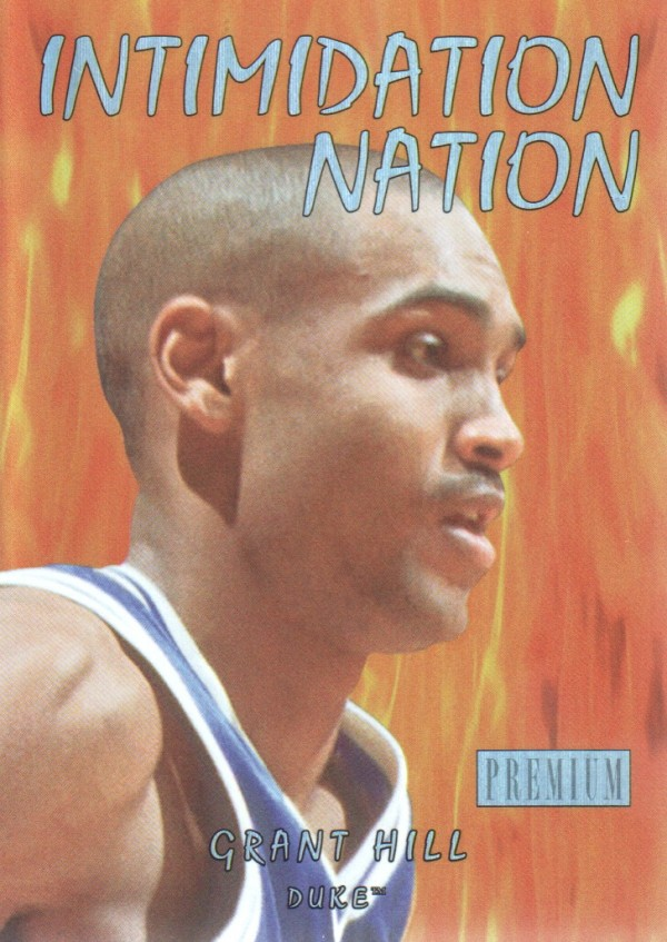 2011-12 Fleer Retro Intimidation Nation #1 Grant Hill