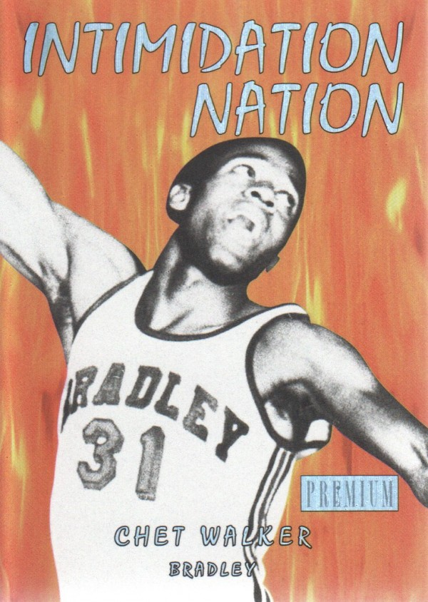 2011-12 Fleer Retro Intimidation Nation #31 Chet Walker