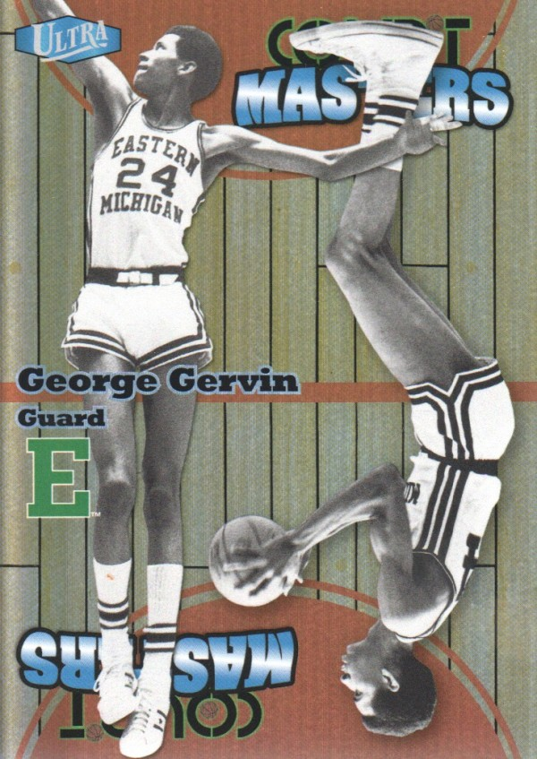 2011-12 Fleer Retro Ultra Court Masters #19 George Gervin