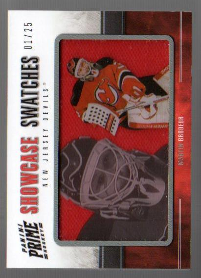 2011-12 Panini Prime Showcase Swatches #53 Martin Brodeur