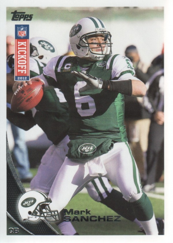 2012 Topps Kickoff #11 Mark Sanchez