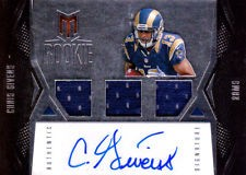 2012 Momentum #120 Chris Givens JSY AU/599 RC