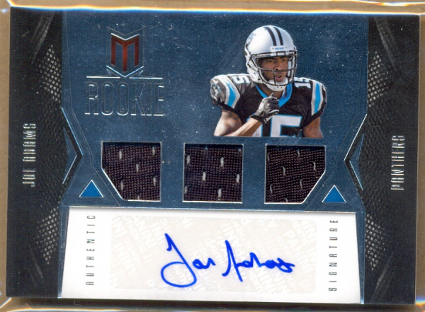 2012 Momentum #121 Joe Adams JSY AU/599 RC