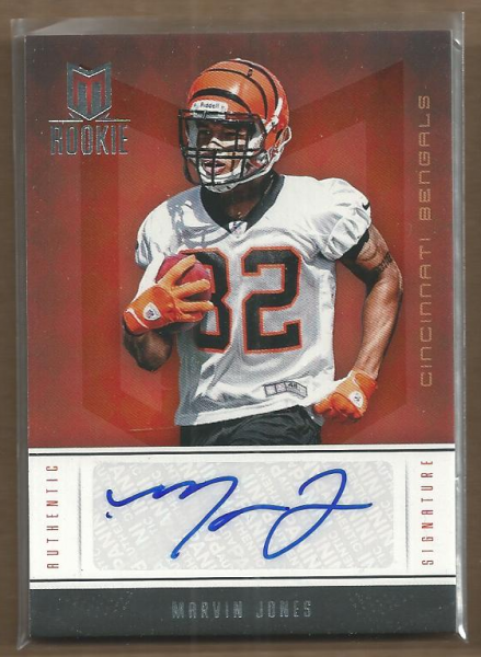 2012 Momentum #176 Marvin Jones AU/299 RC