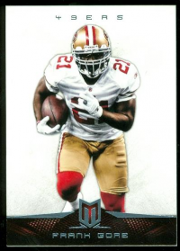 2012 Momentum Platinum #9 Frank Gore