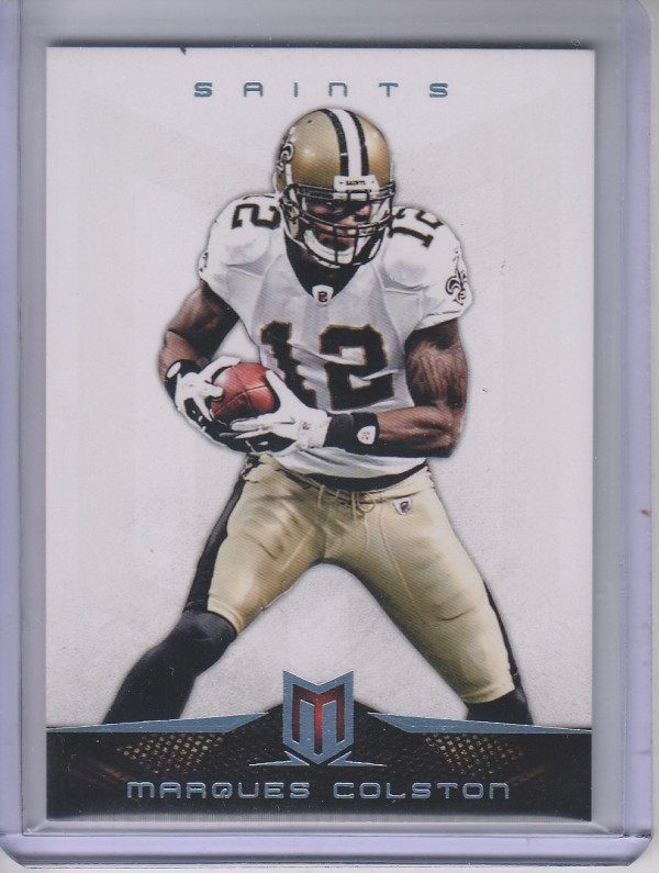 2012 Momentum Platinum #14 Marques Colston