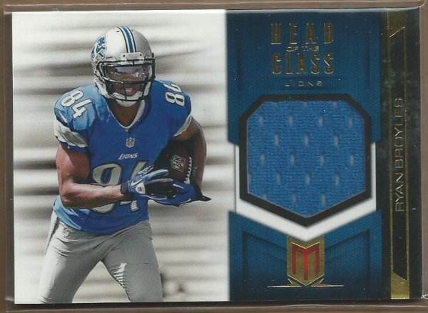2012 Momentum Head of the Class Materials #16 Ryan Broyles
