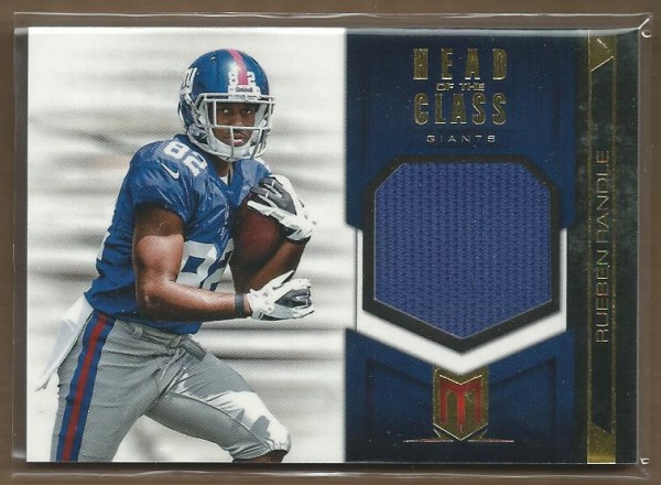 2012 Momentum Head of the Class Materials #23 Rueben Randle