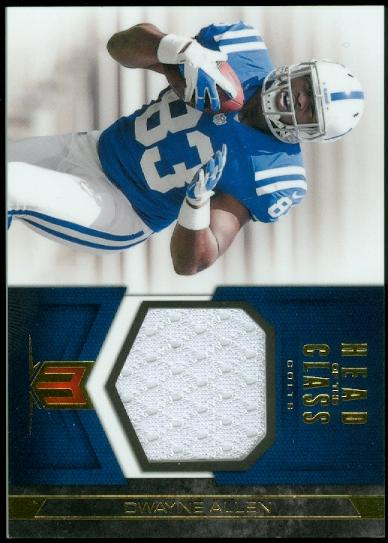 2012 Momentum Head of the Class Materials #31 Dwayne Allen