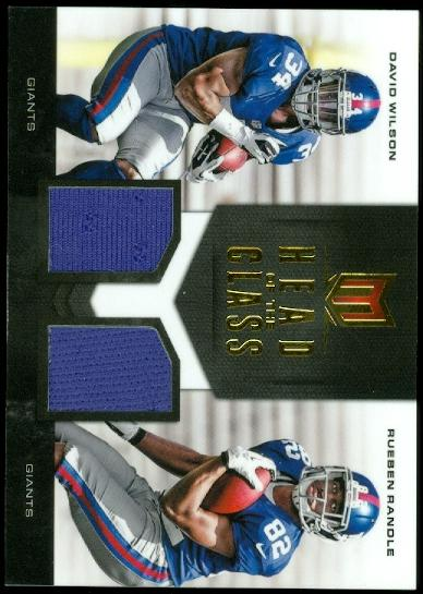 2012 Momentum Head of the Class Materials Combo #3 David Wilson/Rueben Randle