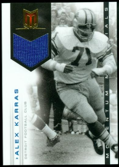 2012 Momentum Materials #16 Alex Karras/149