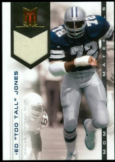 2012 Momentum Materials #31 Ed Too Tall Jones/199