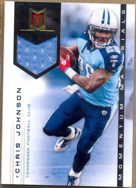 2012 Momentum Materials #49 Chris Johnson/99