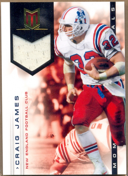 2012 Momentum Materials #70 Craig James/125