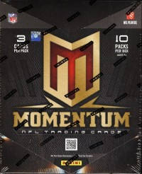 2012 Momentum Football Hobby Box front image
