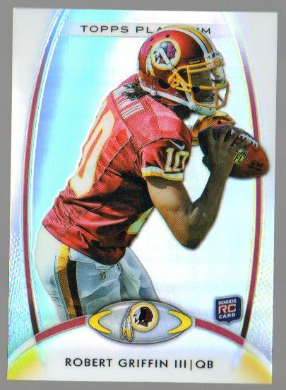 2012 Topps Platinum #120 Robert Griffin III RC
