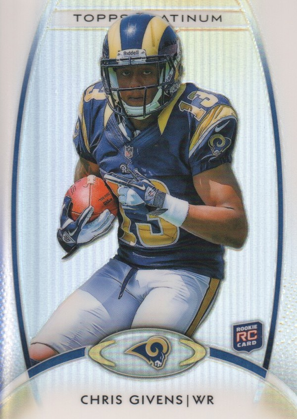 2012 Topps Platinum #127 Chris Givens RC