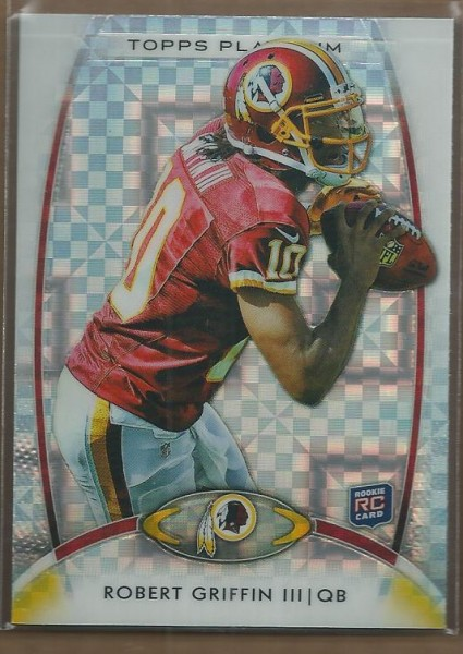 2012 Topps Platinum Xfractors #120 Robert Griffin III