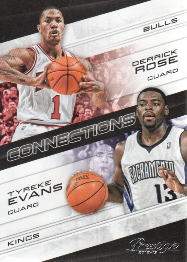 2012-13 Prestige Connections #15 Derrick Rose/Tyreke Evans