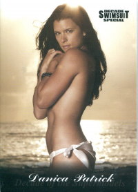 2012 Sports Illustrated Swimsuit Decade of Supermodels #18 Danica Patrick front image