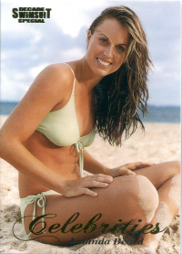 2012 Sports Illustrated Swimsuit Decade of Supermodels Celebrities #C1 Amanda Beard front image