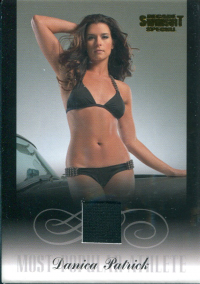 2012 Sports Illustrated Swimsuit Decade of Supermodels Danica Patrick Memorabilia #DP8 Danica Patrick front image