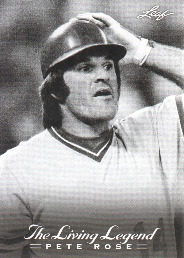 2012 Leaf Pete Rose The Living Legend #24 Pete Rose